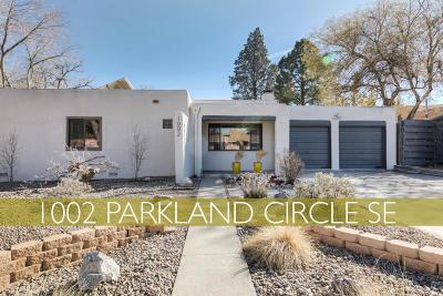 Albuquerque Single Family Home For Sale: 1002 Parkland Circle SE