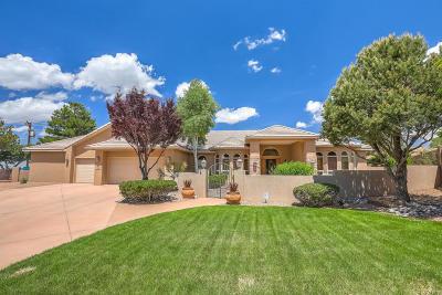 Single Family Home For Sale: 12601 Osito Court NE