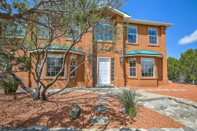 Tijeras, Cedar Crest, Sandia Park, Edgewood, Moriarty, Stanley Single Family Home For Sale: 6 Lomas Court