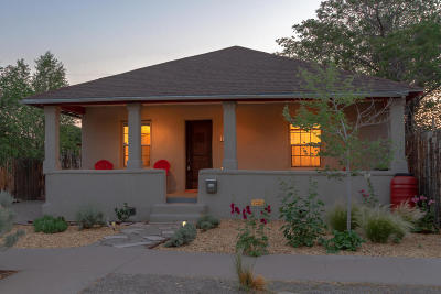 Albuquerque Single Family Home For Sale: 1215 7th Street NW