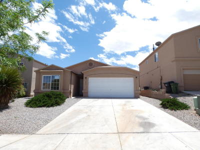Rio Rancho NM Single Family Home For Sale: $157,000
