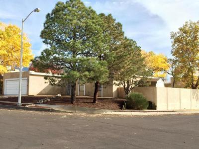 Albuquerque Single Family Home For Sale: 9500 Peralta Road NE