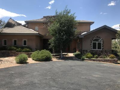 Tijeras, Cedar Crest, Sandia Park, Edgewood, Moriarty, Stanley Single Family Home For Sale: 11 Falcon Court