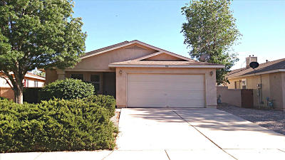 Rio Rancho Single Family Home For Sale: 904 Somerset Meadows Drive NE