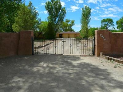 Valencia County Single Family Home For Sale: 11 Mangham Court