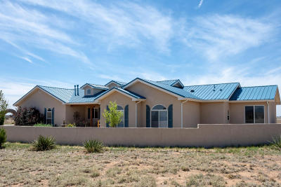 Tijeras, Cedar Crest, Sandia Park, Edgewood, Moriarty, Stanley Single Family Home For Sale: 6 Cabrita Trail