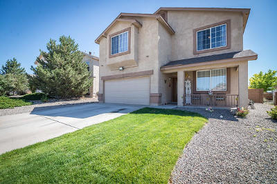 Albuquerque, Rio Rancho Single Family Home For Sale: 3316 Tin Cup Road NE