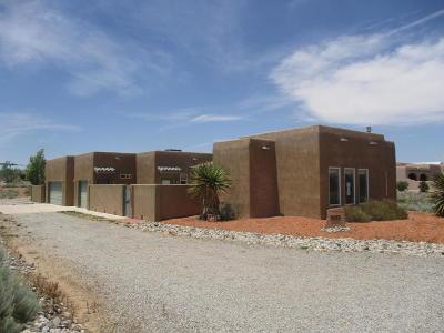 Rio Rancho Single Family Home For Sale: 3313 Nativitas Road NE