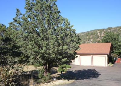 Placitas Single Family Home For Sale: 899 State Highway 165 Road