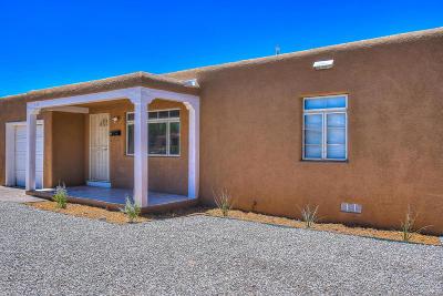 Albuquerque Single Family Home For Sale: 417 Espanola Street NE
