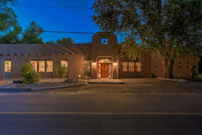 Corrales Single Family Home For Sale: 407 La Entrada