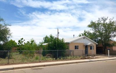 Albuquerque Single Family Home For Sale: 2218 Rice Avenue NW