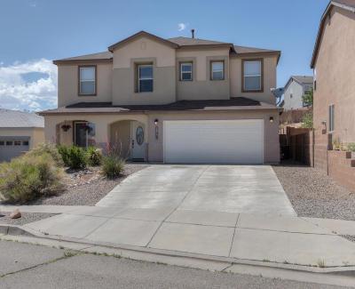 Albuquerque, Rio Rancho Single Family Home For Sale: 5317 Buckeye Court NE