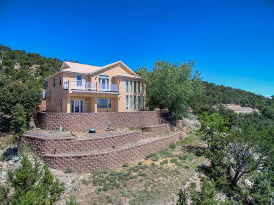 Tijeras, Cedar Crest, Sandia Park, Edgewood, Moriarty, Stanley Single Family Home For Sale: 96 Sandia Mountain Ranch Drive