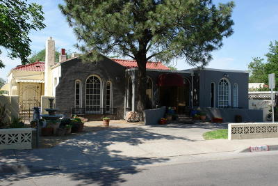 Albuquerque Single Family Home For Sale: 1606 Roma Avenue NE