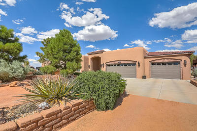 Rio Rancho Single Family Home For Sale: 3106 Chayote Road NE