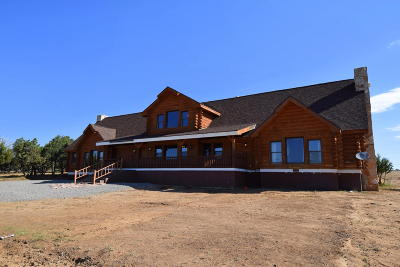 Tijeras, Cedar Crest, Sandia Park, Edgewood, Moriarty, Stanley Single Family Home For Sale: 7 Mountain Valley Court