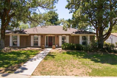Albuquerque Single Family Home For Sale: 4713 Brookwood Street NE