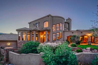 Tijeras, Cedar Crest, Sandia Park, Edgewood, Moriarty, Stanley Single Family Home For Sale: 70 Twin Arrow Drive
