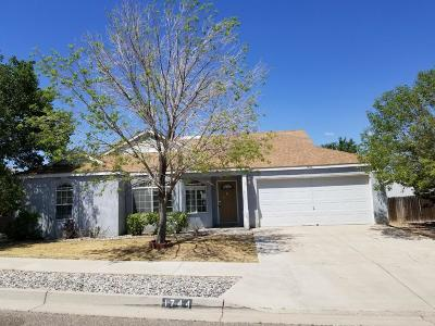 Rio Rancho Single Family Home Active Under Contract - Short : 1744 Blueberry Drive NE