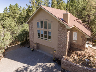 Tijeras, Cedar Crest, Sandia Park, Edgewood, Moriarty, Stanley Single Family Home For Sale: 19 Brandy Lane