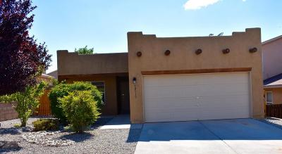Albuquerque Single Family Home For Sale: 10919 Argonite Drive NW