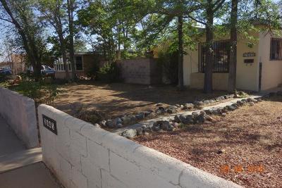 Albuquerque NM Single Family Home For Sale: $112,500