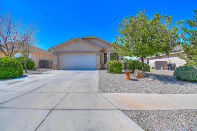 Rio Rancho Single Family Home For Sale: 3453 Hunters Meadows Circle NE