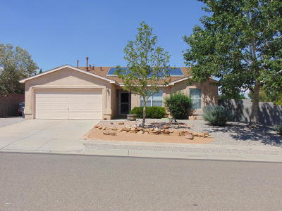 Rio Rancho Single Family Home For Sale: 6441 Freemont Hills Loop NE