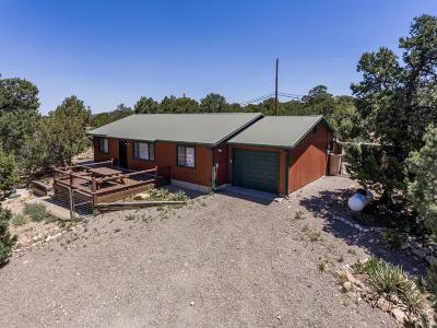 Tijeras, Cedar Crest, Sandia Park, Edgewood, Moriarty, Stanley Single Family Home For Sale: 59 Woodland Drive