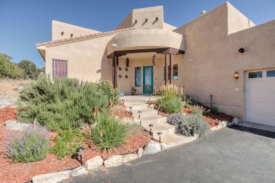 Santa Fe County Single Family Home For Sale: 9 Camino Coyote
