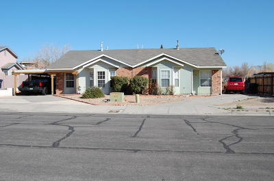 Albuquerque Attached For Sale: 6701 Azuelo Avenue NW