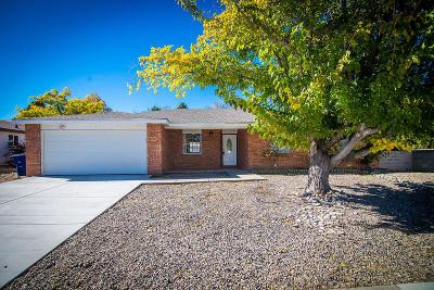Single Family Home For Sale: 6843 Louisiana Boulevard NE