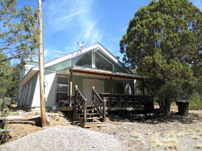 Tijeras Single Family Home For Sale: 3 Valley Road