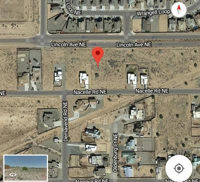 Rio Rancho Residential Lots & Land For Sale: 6857 Nacelle Road NE