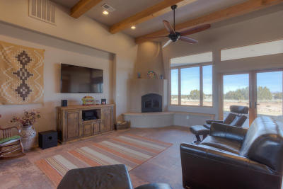 Tijeras, Cedar Crest, Sandia Park, Edgewood, Moriarty, Stanley Single Family Home For Sale: Lot 2-C Jack Rabbit Run