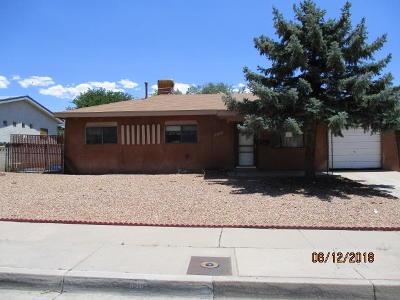 Albuquerque Single Family Home For Sale: 640 Grace Street NE