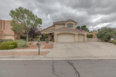 Albuquerque Single Family Home For Sale: 8809 Mendocino Court NE