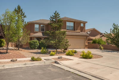 Albuquerque Single Family Home For Sale: 7443 Redpoll Road NW