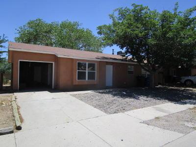 Albuquerque Single Family Home For Sale: 9300 Rhonda Street SW