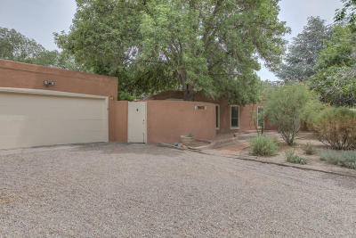 Albuquerque Single Family Home For Sale: 1300 Camino Amparo NW