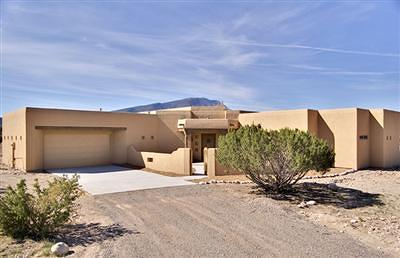 Placitas Single Family Home For Sale: 1 Caballo Sendero