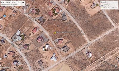 Rio Rancho Residential Lots & Land For Sale: Alcano Circle NE