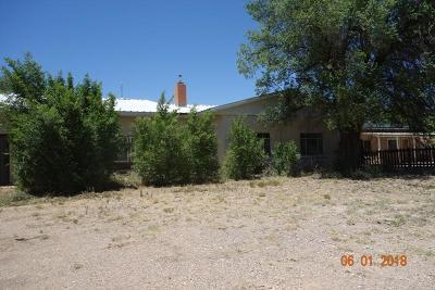 Tijeras, Cedar Crest, Sandia Park, Edgewood, Moriarty, Stanley Single Family Home For Sale: 201 Columbia NW