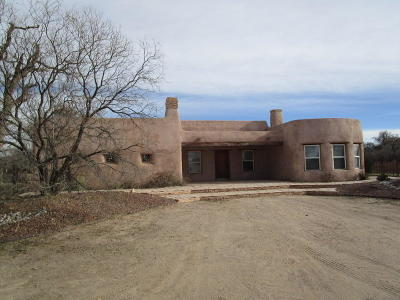 Valencia County Single Family Home For Sale: 31 Monte Vista Road