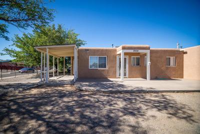 Albuquerque Single Family Home For Sale: 2404 Valencia Drive NE