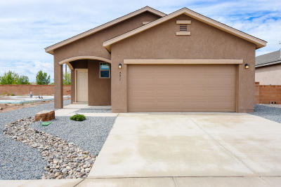 Albuquerque Single Family Home For Sale: 771 Jaconita Place SW