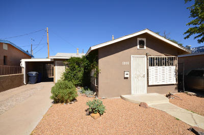 Albuquerque Single Family Home For Sale: 1205 6th Street NW