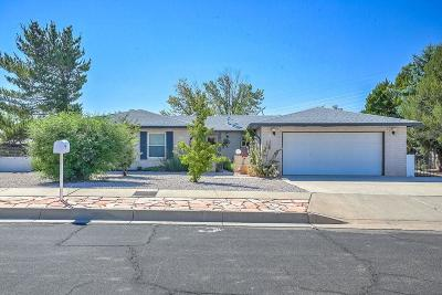 Albuquerque Single Family Home For Sale: 8309 Cherry Hills Drive NE