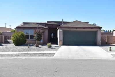 Valencia County Single Family Home For Sale: 1595 Camino Rustica SW